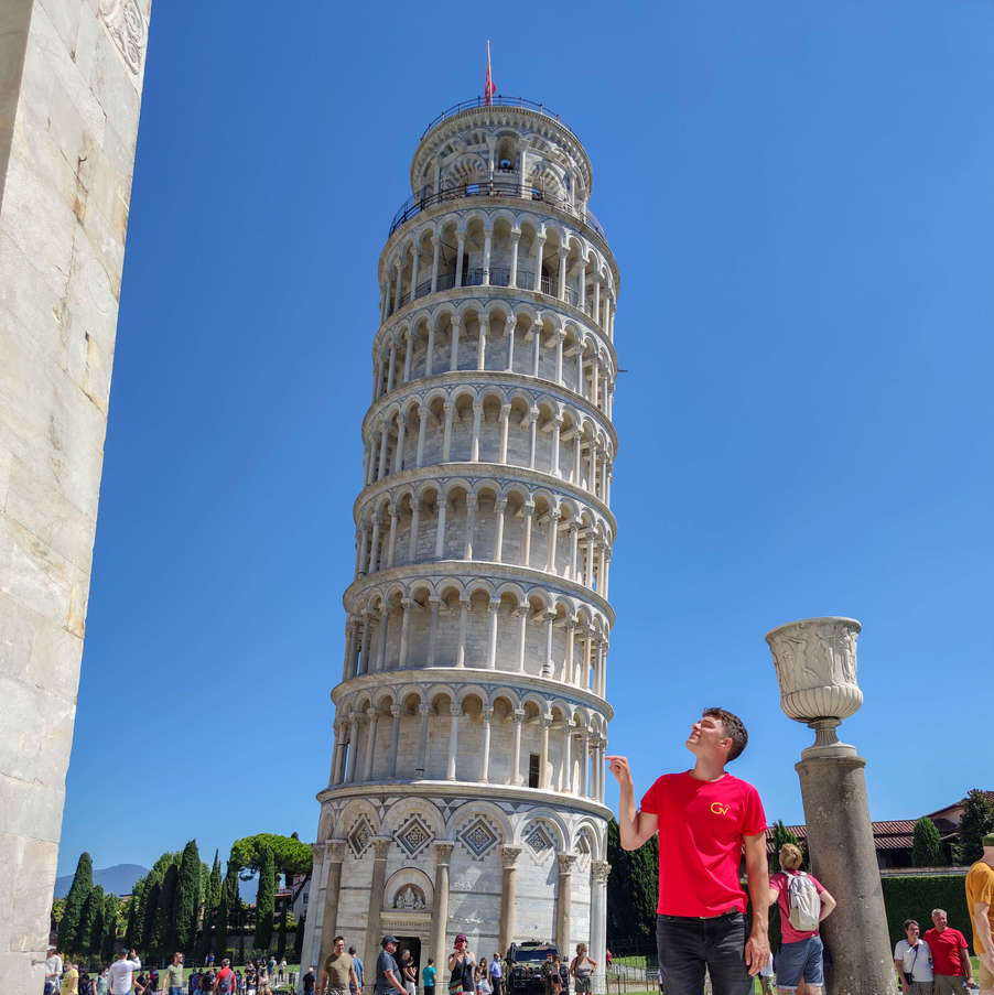Me and The Leaning Tower of Pisa