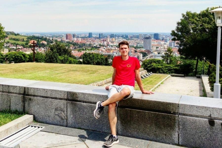 backpacking in Bratislava