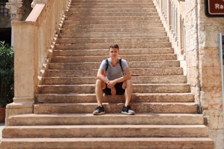 backpacking in Verona