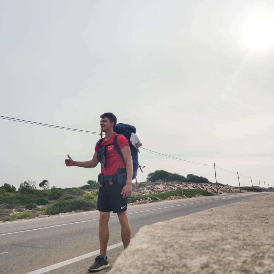 Hitchhiking in Puglia