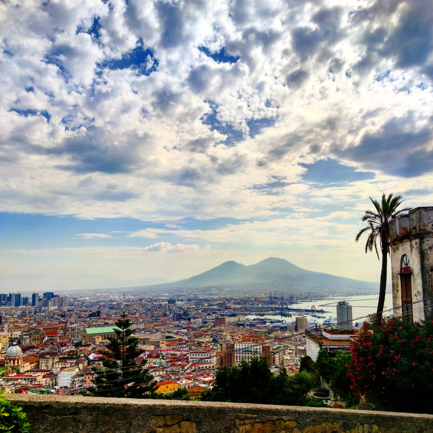 Napoli from above