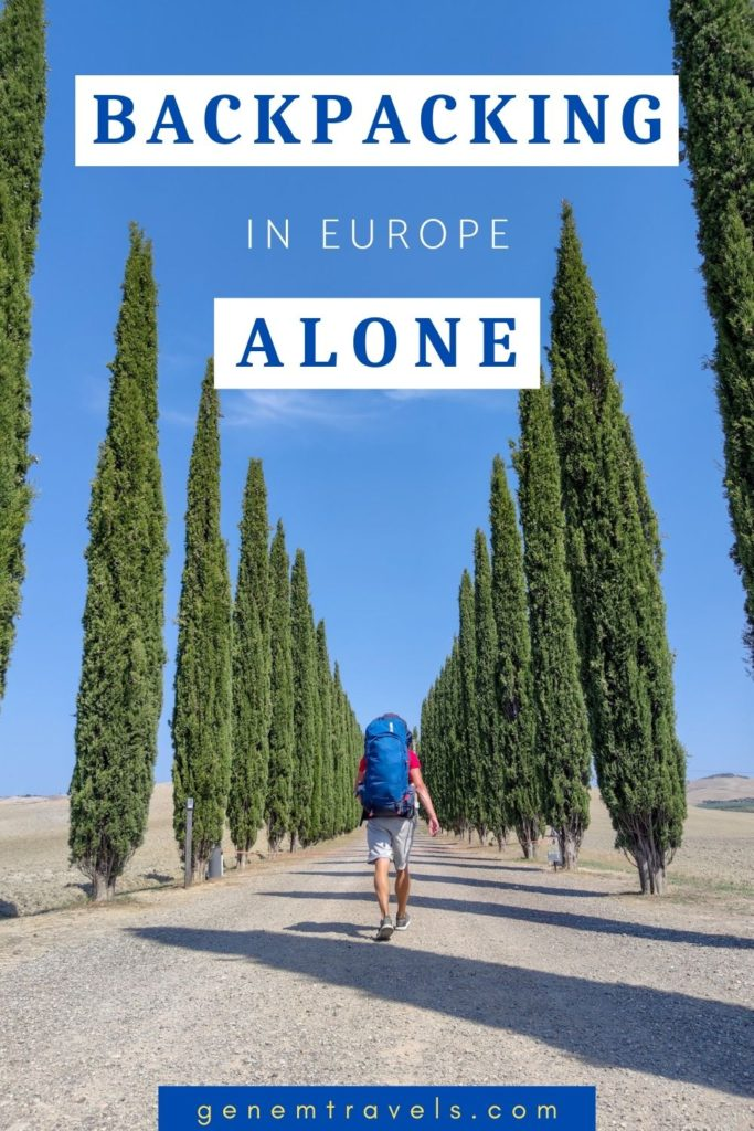 Backpacking alone in Europe
