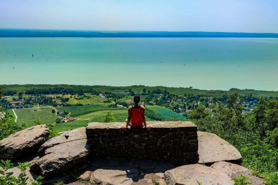 Badacsony viewpoint