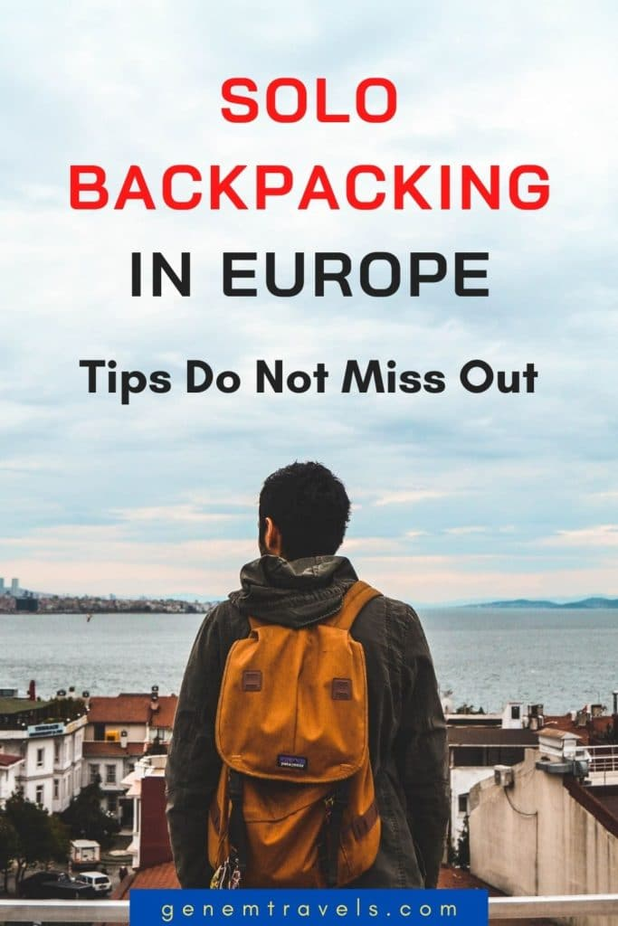 Solo backpacking in Europe