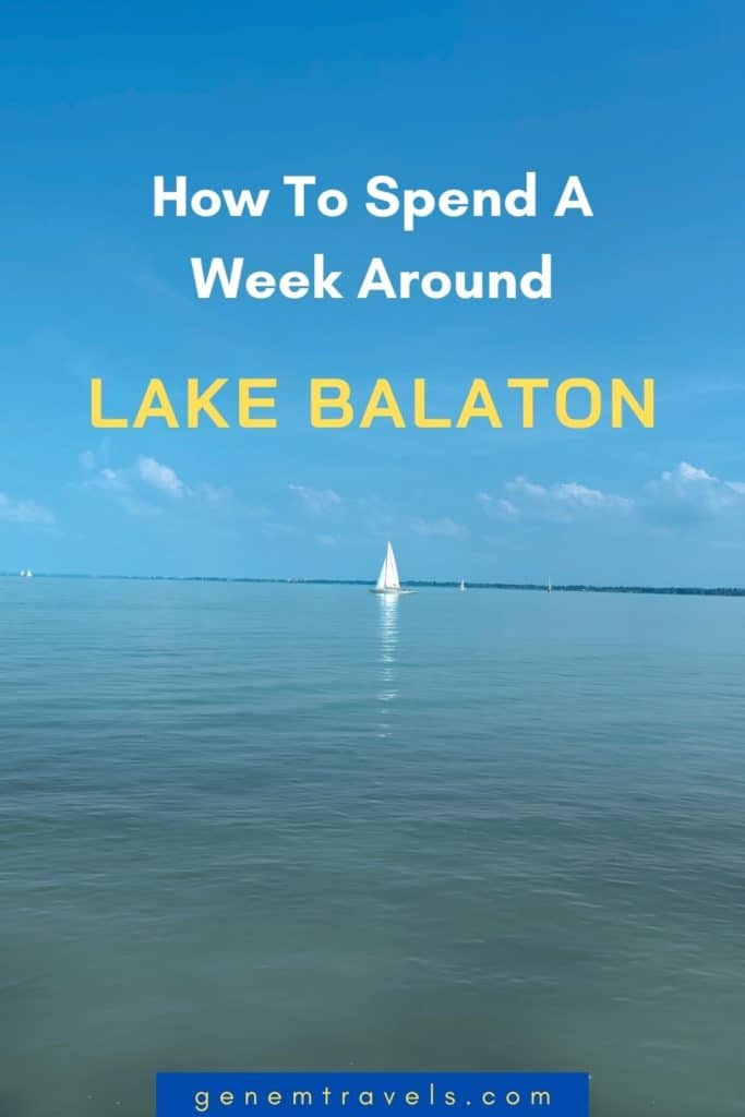week around lake balaton