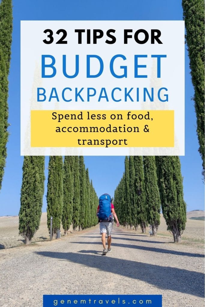 Tips for Budget Backpacking