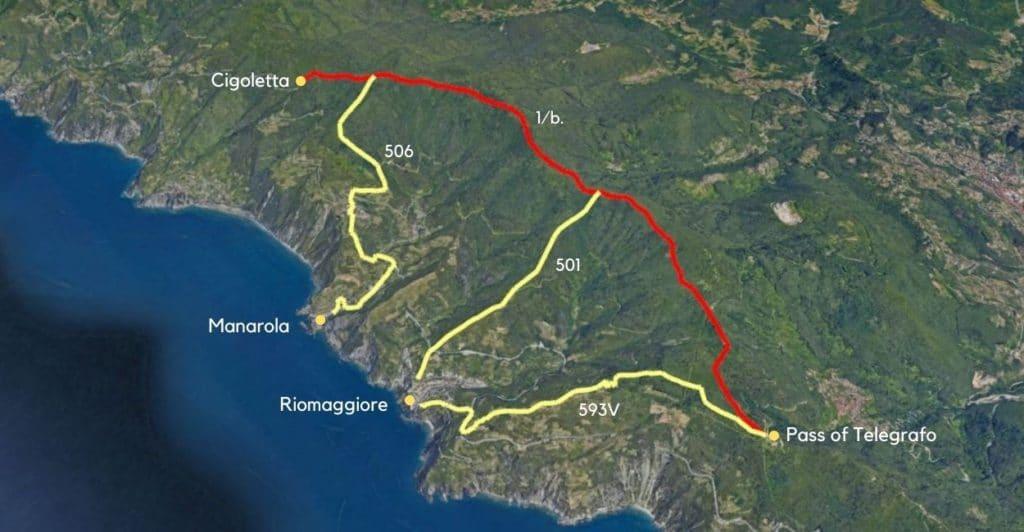 Pass of Telegrago to Cigoletta