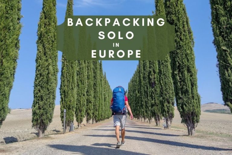 Backpacking solo in Europe