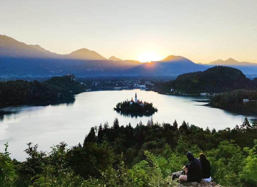 Lake Bled. Day trips from Ljubljana.