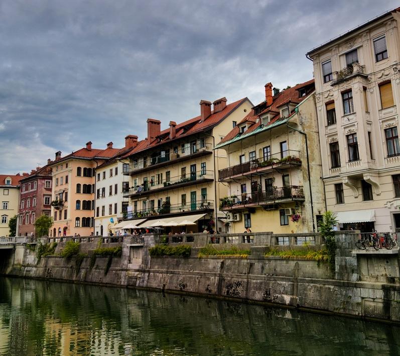 Ljubljanica riverside