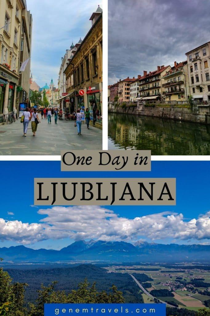 One Day in Ljubljana