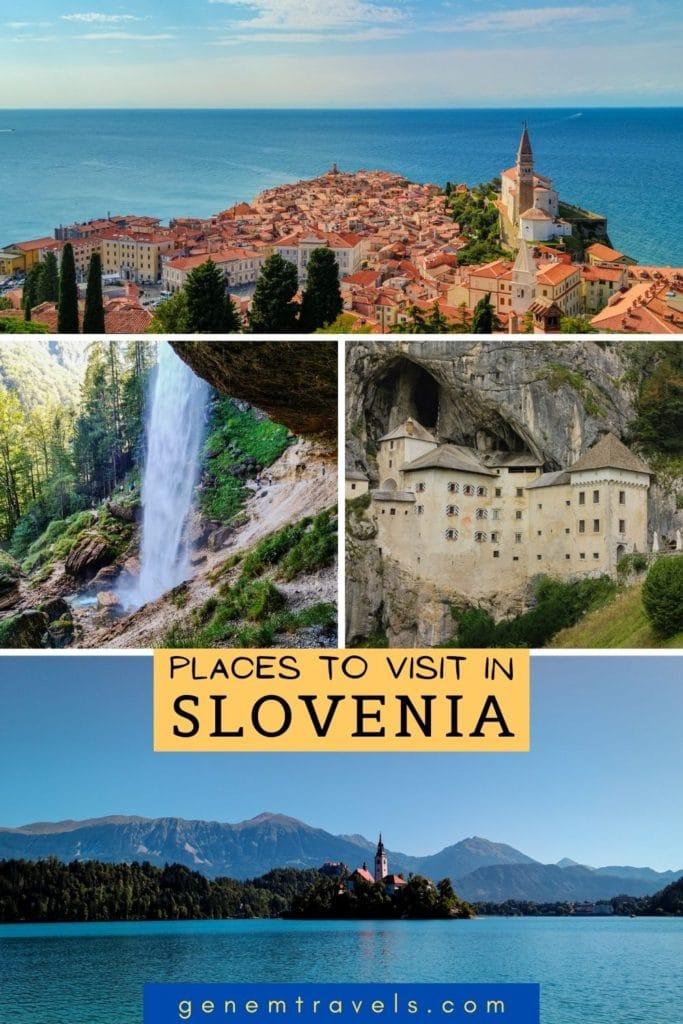 Slovenia places to visit