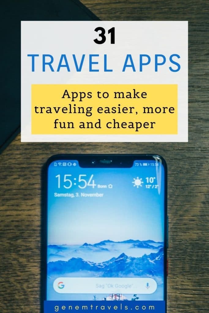 apps for backpacking