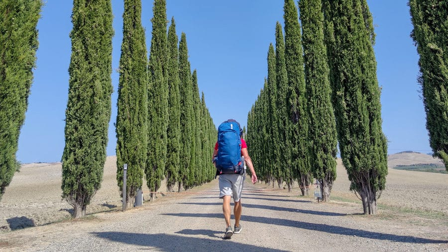 Backpacking in Europe alone