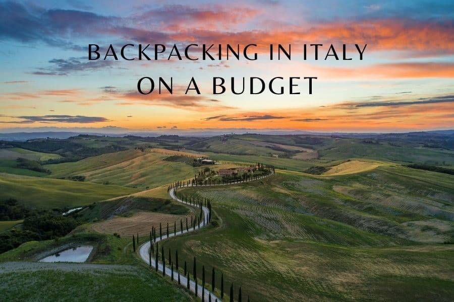 Backpacking in Italy