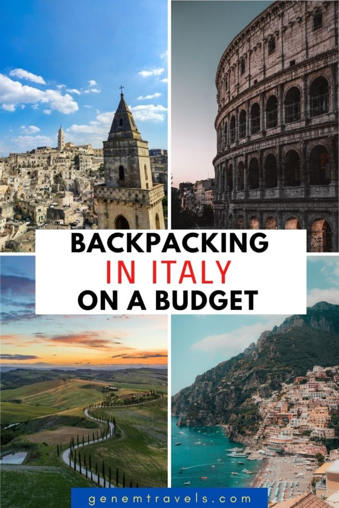Budget backpacking in Italy