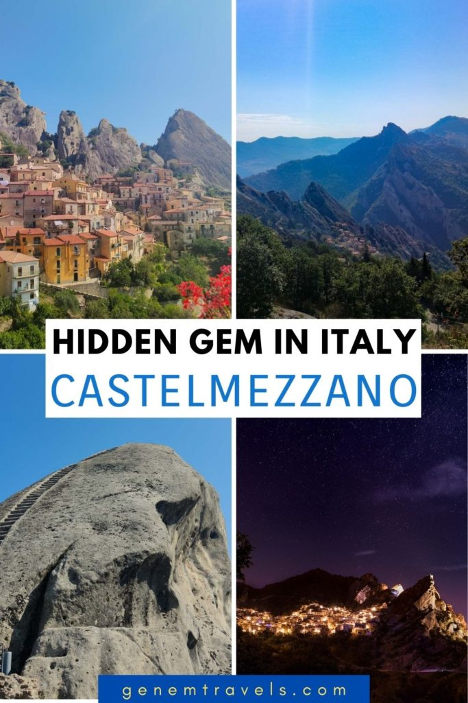 Castelmezzano in Italy