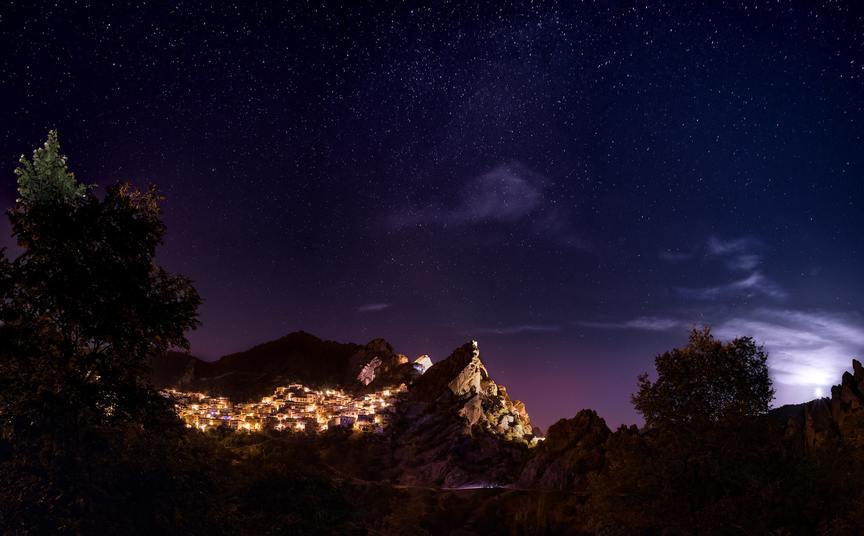 Castelmezzano night