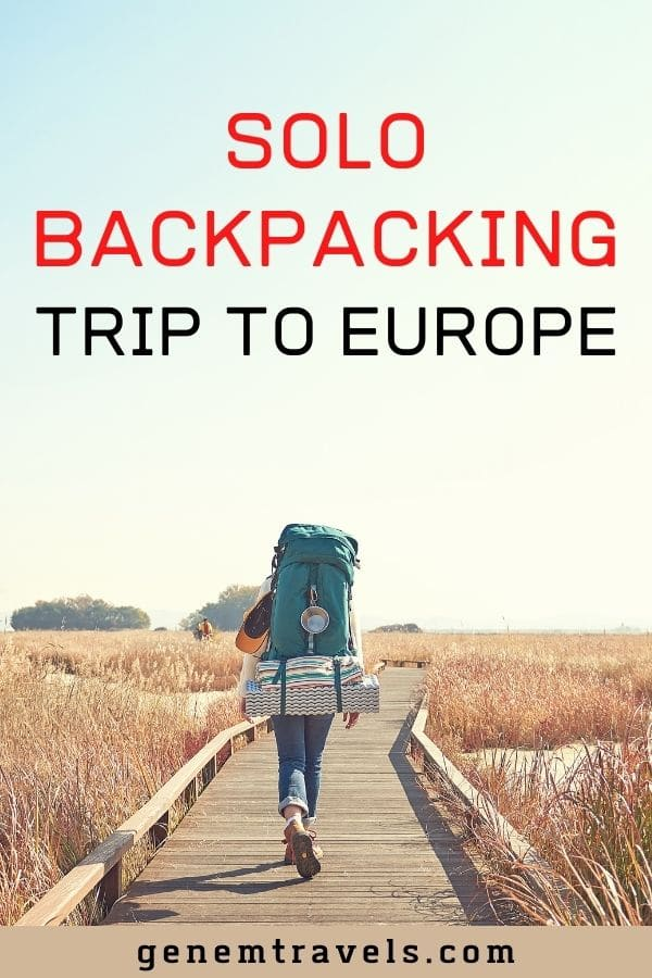 backpacking trip to europe