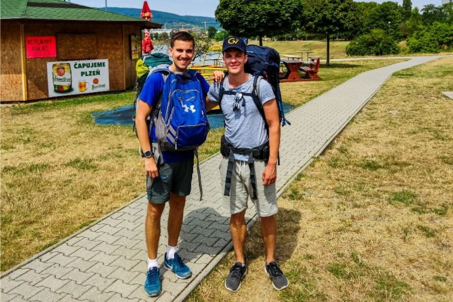 solo backpacking companions