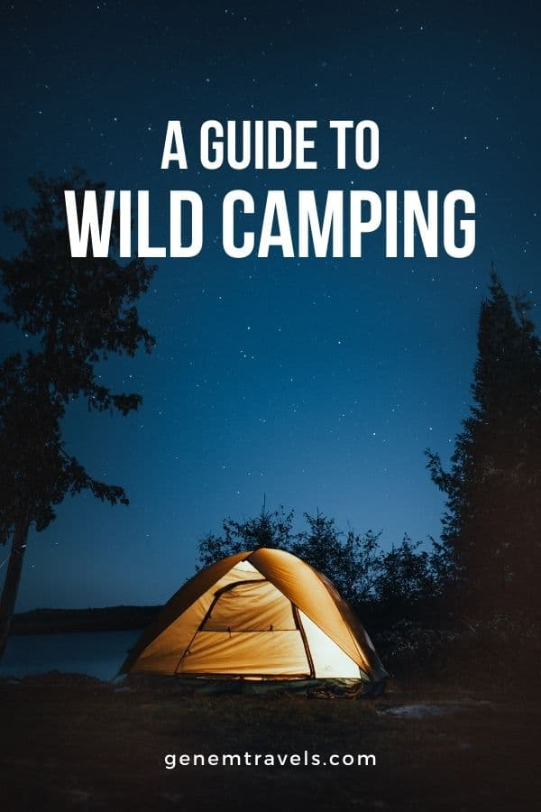 Guide to wild camping