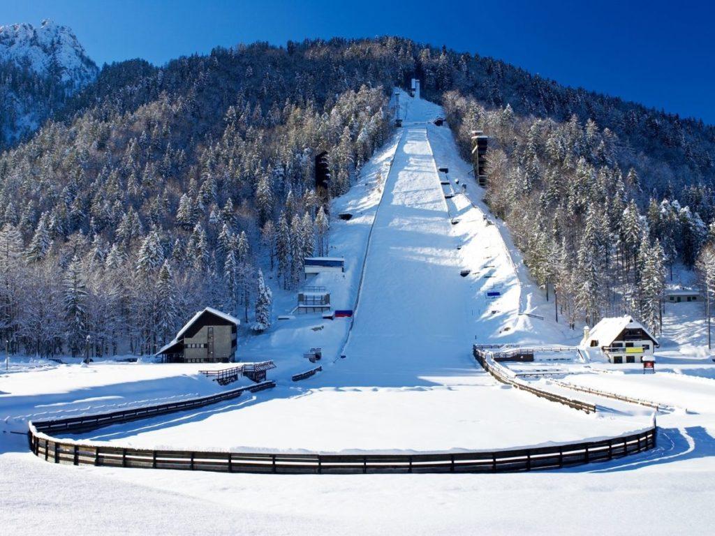 Planica ski jumping hill