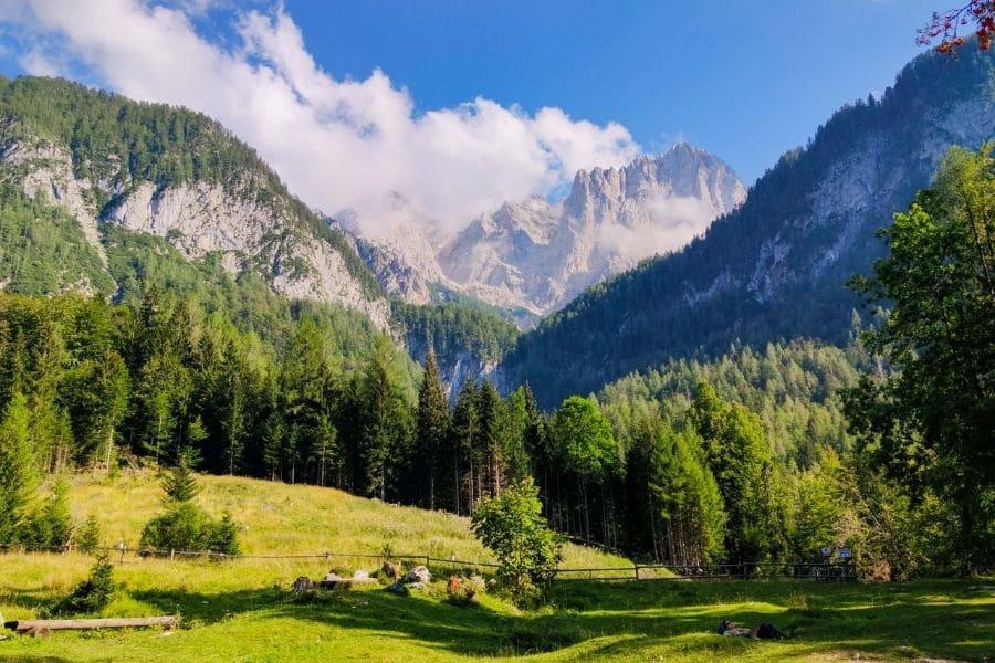 Triglav National Park. backpacking slovenia travel guide.