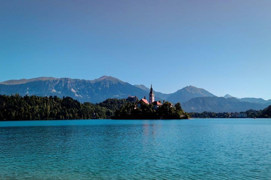 lake bled. backpacking slovenia travel guide