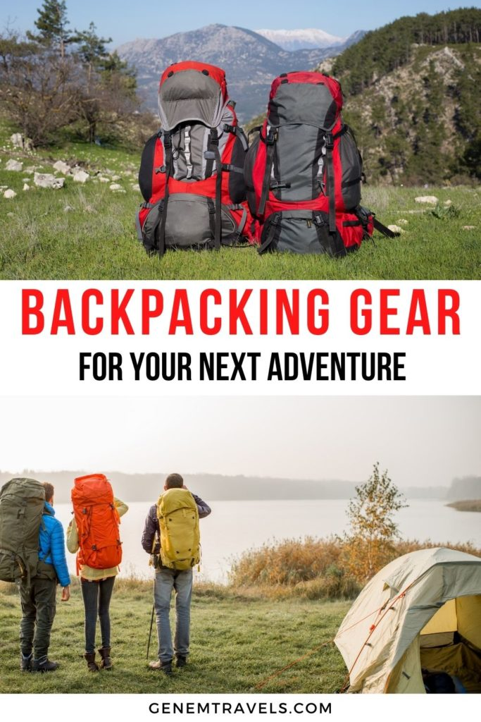 backpacking gear for travel