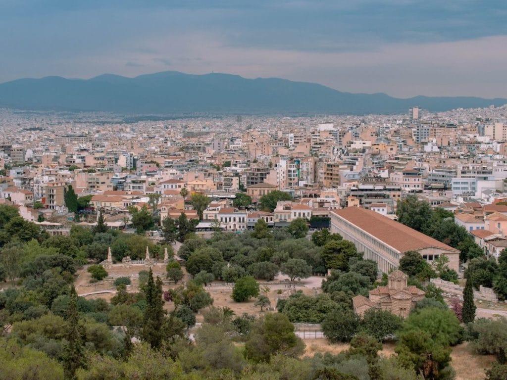 Areopagus Hill views