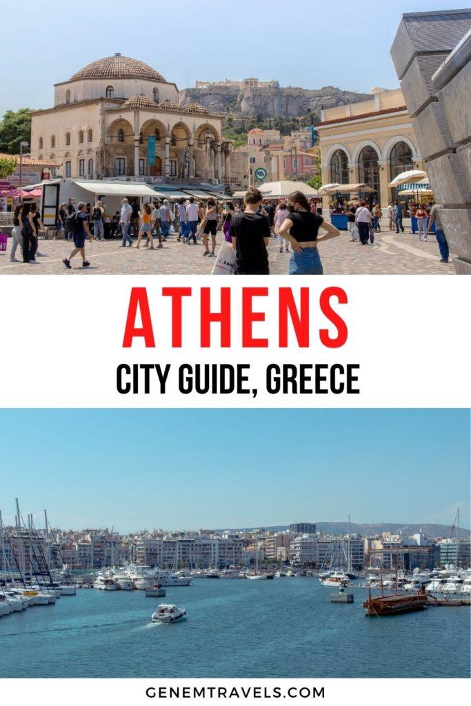 Athens city guide greece
