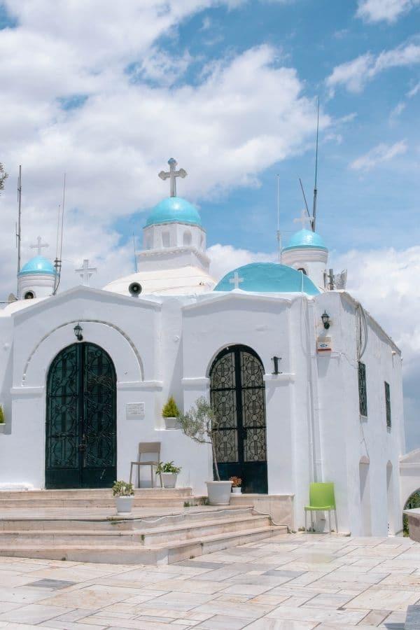 St. George chapel mount lycabettus
