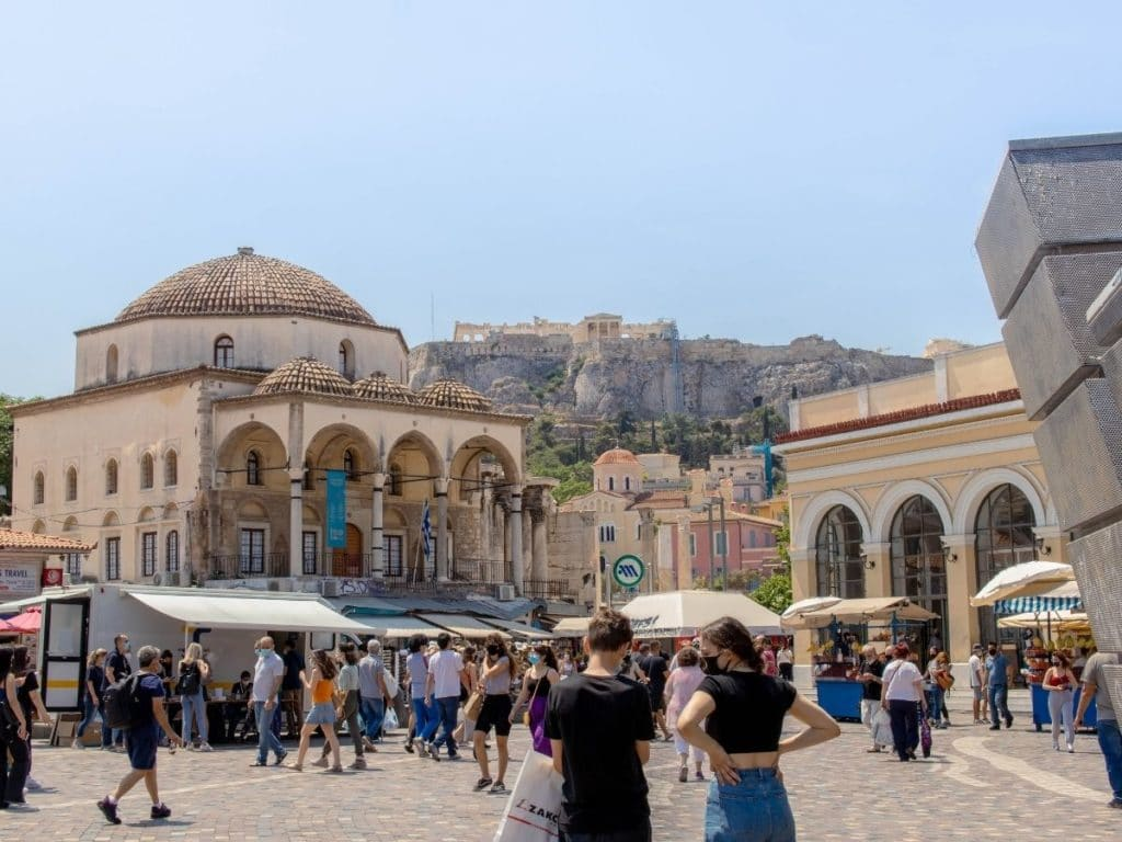 backpacking athens travel guide
