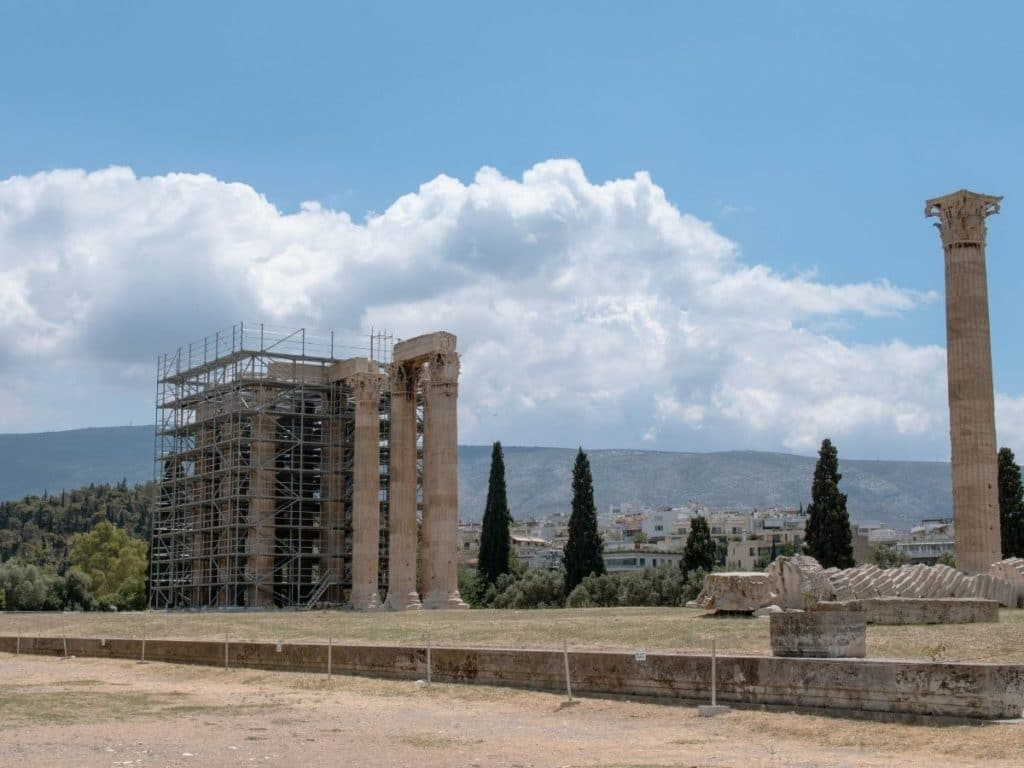 temple of zeus olympia greece