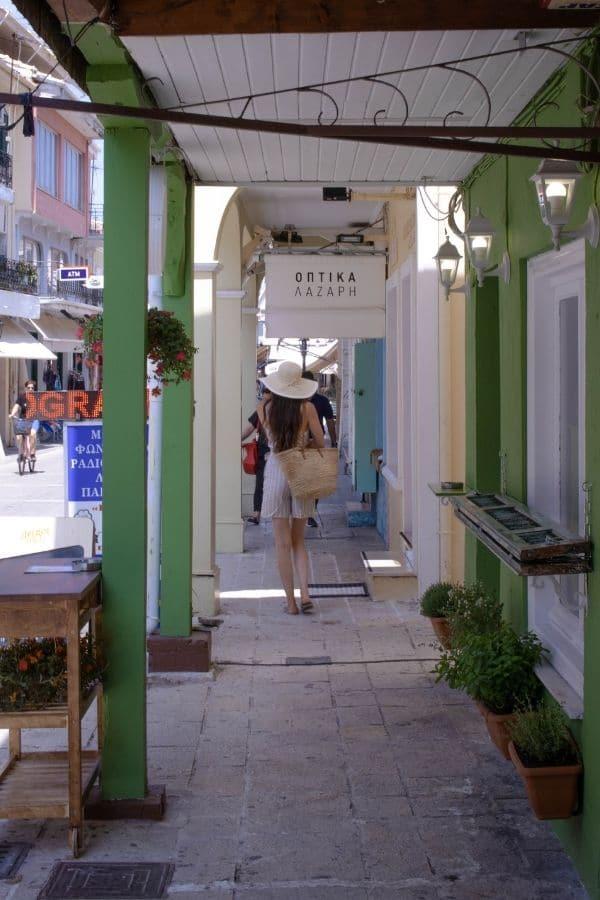 Lefkada Town Street