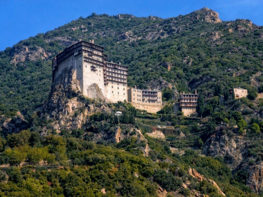 Mount Athos peninsula