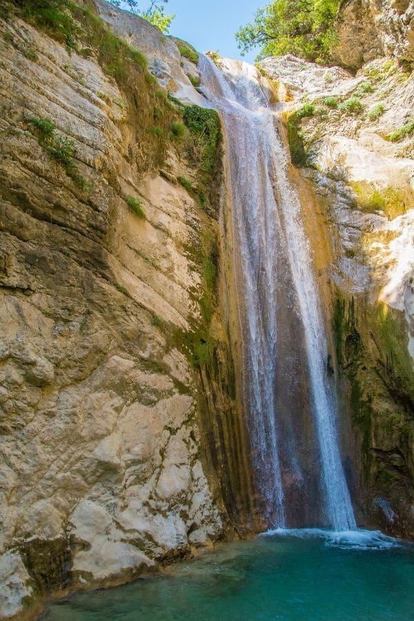 Nidri waterfalls lefkada