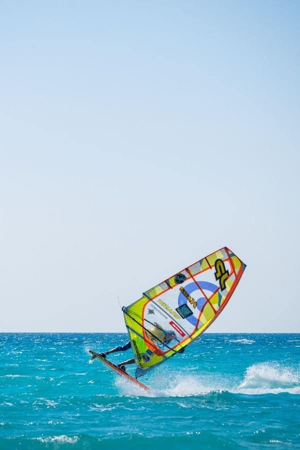 Windsurfing in lefkada
