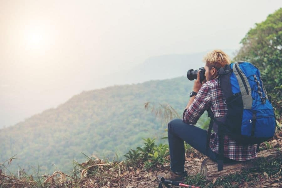 best cameras for backpacking trip