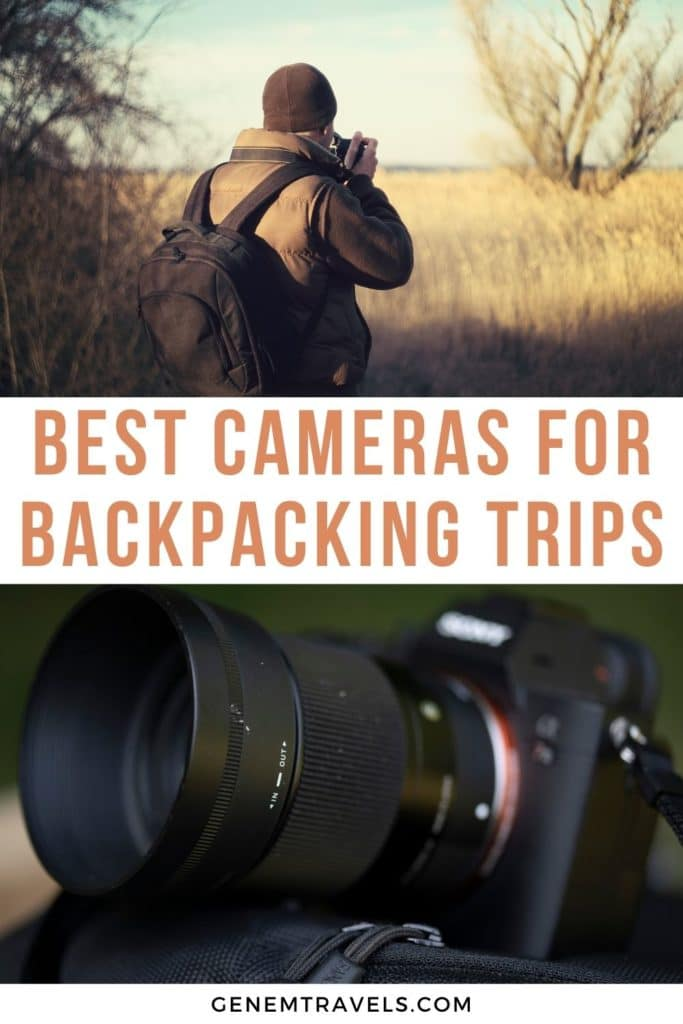 best cameras for backpacking trips