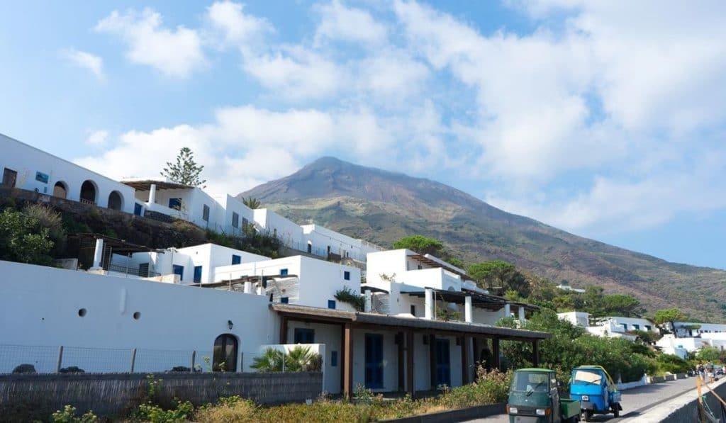 Stromboli volcano hike