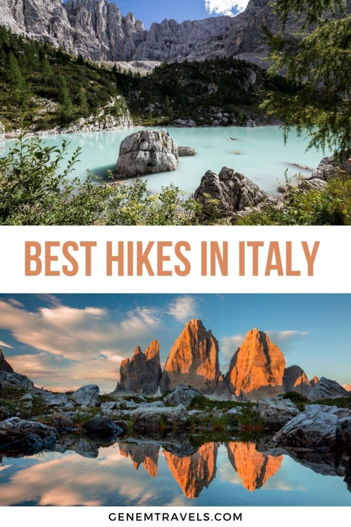 best hikes in italy